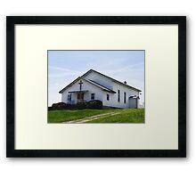 Perfect Church Setting Framed Print