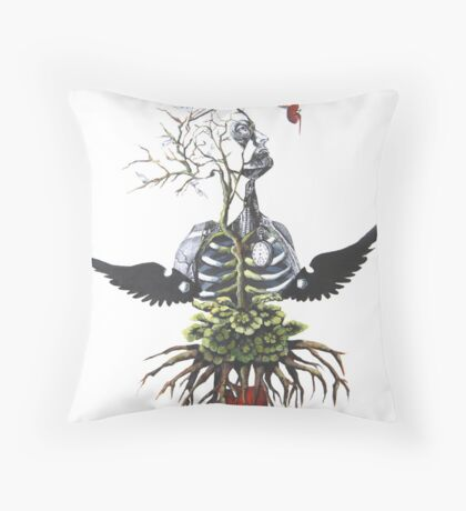 The Weight of my Heart  Throw Pillow