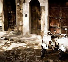 Florence Vespa - Take a ride! by Erin Kanoa