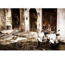 Florence Vespa - Take a ride! Photographic Print