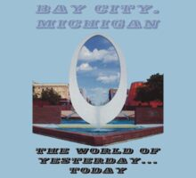 Bay City...The World of Yesterday...Today One Piece - Short Sleeve