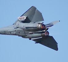 F-111 Afterburner Pass by Daniel McIntosh
