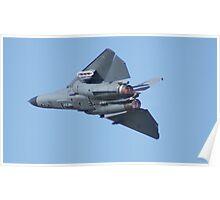 F-111 Afterburner Pass Poster