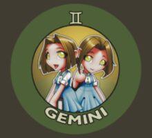 Chibi Schoolgirl Zodiac - Gemini by Julia Lichty