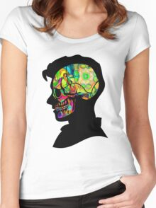Alex Turner - Psychedelic Women's Fitted Scoop T-Shirt
