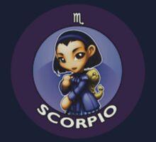 Chibi Schoolgirl Zodiac - Scorpio by Julia Lichty