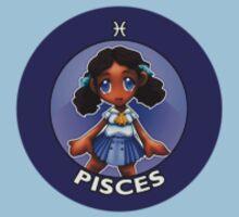 Chibi Schoolgirl Zodiac - Pisces by Julia Lichty
