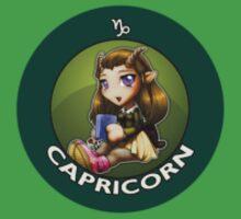 Chibi Schoolgirl Zodiac - Capricorn by Julia Lichty