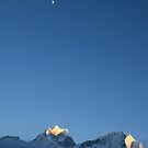 The Mountains and the moon by stjc