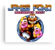 James Pond Canvas Print