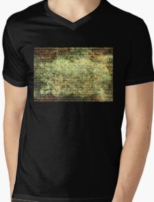 Wired Binary Code edition 6 Mens V-Neck T-Shirt