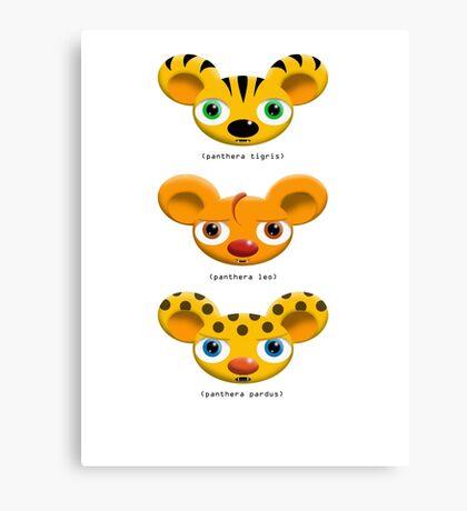 Little Big Cats Canvas Print
