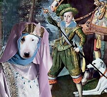 Bull Terrier Art - My Lady by NobilityDogs