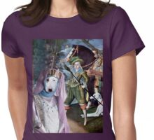 Bull Terrier Art - My Lady Womens Fitted T-Shirt