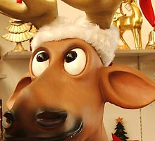 Rudolph NO Nose by ScenerybyDesign