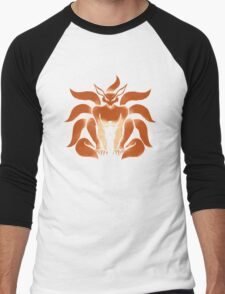 9 Tailed Shinobi Men's Baseball ¾ T-Shirt
