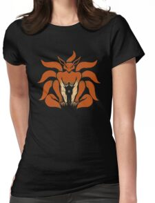 9 Tailed Shinobi Womens Fitted T-Shirt