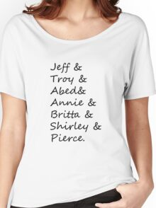 community: greendale human beings Women's Relaxed Fit T-Shirt