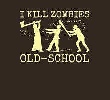 Funny Retro Old School Zombie Killer Hunter Unisex T-Shirt