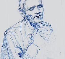 Chet Baker by Francesca Romana Brogani