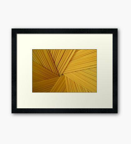 Spaghetti 1 Framed Print