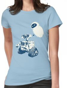 Wall e Womens Fitted T-Shirt