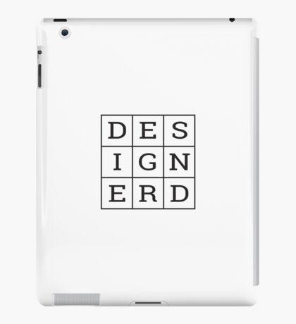 Design Nerd iPad Case/Skin