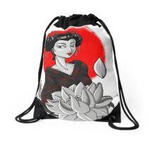 GEISHA NEW SCHOOL Drawstring Bag