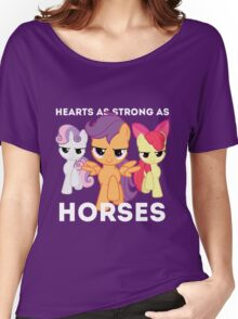 Hearts as strong as horses - CMC Women's Relaxed Fit T-Shirt