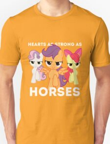 Hearts as strong as horses - CMC Unisex T-Shirt