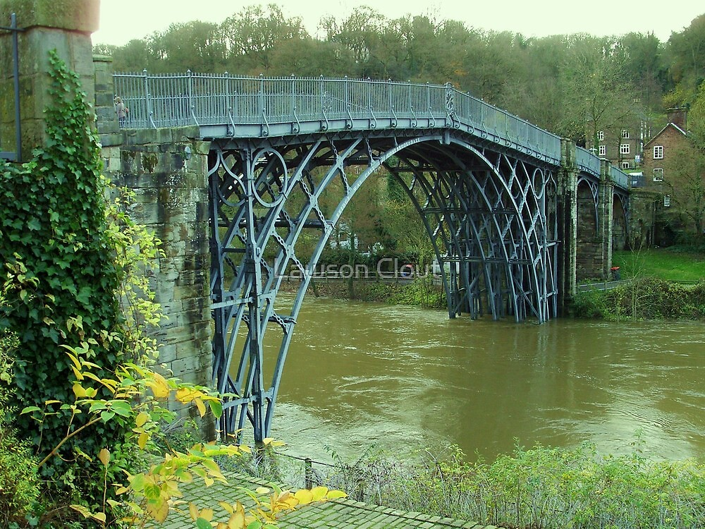 The Great Ironbridge Shropshire. by Lawson Clout