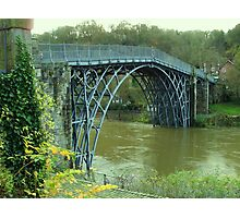 The Great Ironbridge Shropshire. Photographic Print