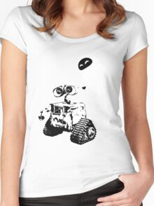 Wall e Women's Fitted Scoop T-Shirt