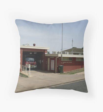 Gundagai 313 Fire Station Throw Pillow