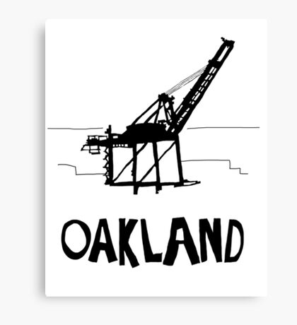 Oakland California Canvas Print