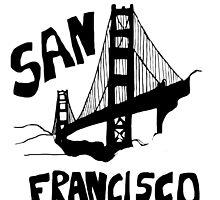 San Francisco, California Golden Gate by Jan Weiss