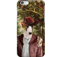 Bull Terrier Art - The Paradise iPhone Case/Skin