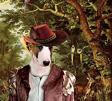 Bull Terrier Art - The Paradise by NobilityDogs