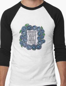 Femme ain't frail  Men's Baseball ¾ T-Shirt