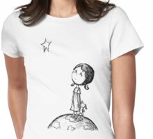 When You Wish Upon A Star...  Womens Fitted T-Shirt