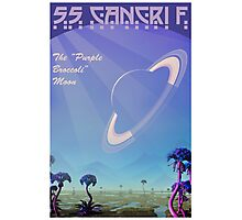 Space Travel Poster 55 Cancri F Photographic Print