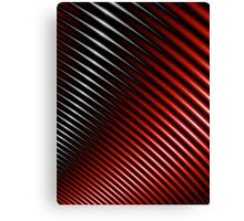 Red wire fractal Canvas Print