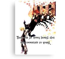 Kingdom Hearts Roxas memory Canvas Print