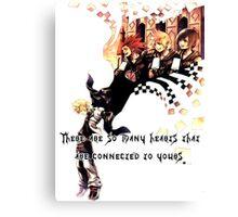 Kingdom Hearts Roxas memory Canvas Print