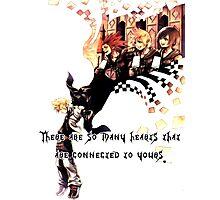 Kingdom Hearts Roxas memory Photographic Print