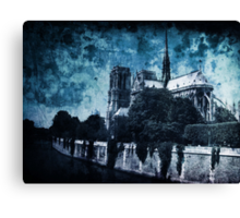 Dissipating Rapture Canvas Print