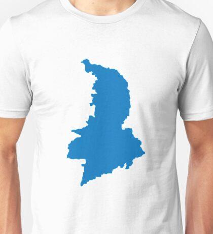 Syros Map Greek Island Unisex T-Shirt