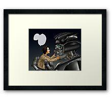 Transformers AU - Supernatural Framed Print