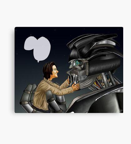 Transformers AU - Supernatural Canvas Print