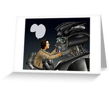 Transformers AU - Supernatural Greeting Card